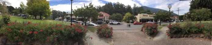 Main street Warburton.